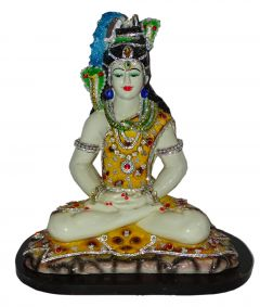 "Paras Magic Shiv in Dhyan Posture Idol(13.75x9.75x17.5"")"