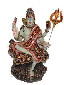 "Paras Magic Sitting Shiv Idol(11.81x8.66x19.68"")"