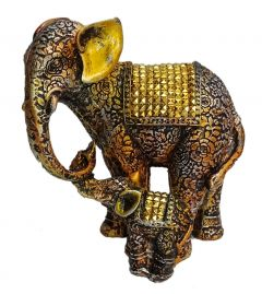 Paras Magic Elephant With Child (8x4x8.5 inch)
