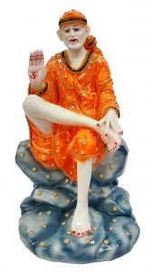 Paras Magic Sai Baba Idol (7.5X7.5X14.5 inch)