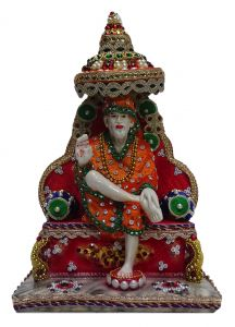 "Paras Magic Sai Baba Idol(7.5X4.75X12"")"
