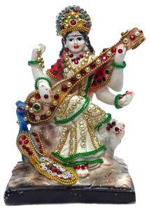 "Paras Magic Saraswati Idol Small(4X3.5X6.25"")"