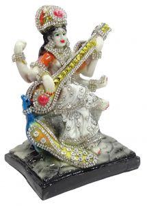 "Paras Magic Gyan Saraswati Idol Statue(4.5X4X6"")"