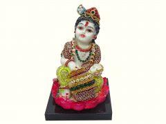 "Paras Magic Makhan Chor Krishna MCK4(4.33x4x9.05"")"