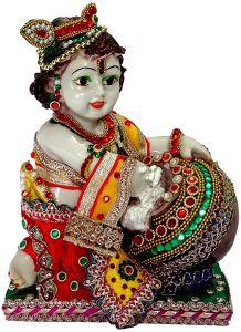 "Paras Magic Makhan Chor Krishna MCK2(6.25X4.25X9.5"")"