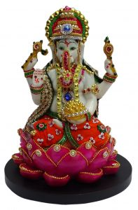 "Paras Magic Lord Ganesha Idol (8.5X8.5X11"")"
