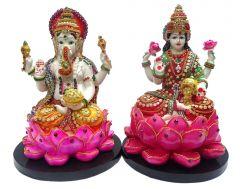 "Paras Magic Lakshmi Ganesh Idol(16.53x8.26x11.41"")"