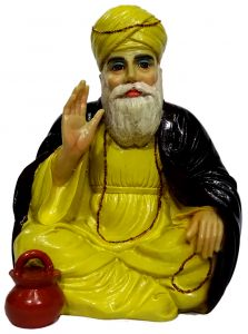 "Paras Magic Small Guru Nanak(6x5.25x8"")"