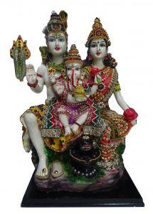 """Paras Magic Shiv Parivar Idol(12X9X17.75"""")"""