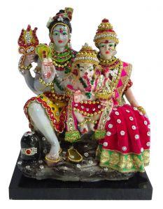 """Paras Magic Shiv Parivar Idol(7X4X8.25"""")"""