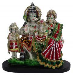 Paras Magic Shiv Parivar (10x5x9.5 Inch)