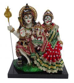 """Paras Magic Shiv Parivar Idol(8X4.25X9.5"""")"""