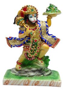 "Paras Magic Beautiful Lord Hanuman Idol JI(6.5X3.5X8.25"")"