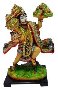 """Paras Magic Pahad Hanuman Ji(7.5X6X12"""")"""