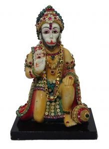 "Paras Magic Hanuman Idol(6x4x8.75"")"