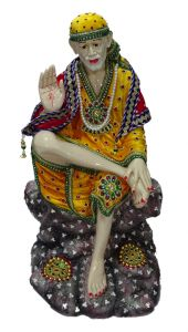 "Paras Magic Big Sai Baba Idol(13.25X11.5X23.75"")"