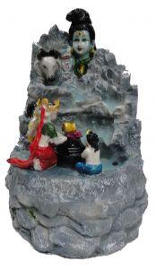 "Paras Magic Shiv Family Fountain(6.75X7X11"")"