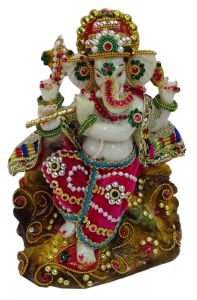 "Paras Magic Lord Ganesha Idol (6x4X8"")"