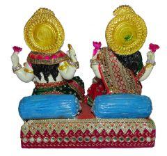 "Paras Magic Lakshmi Ganesha Idol(11x5.25x11"")"