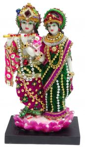 "Paras Magic Lord Radha Krishan Idol Statue (5X4X8.25"")"