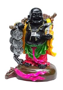 "Paras Magic Big Black Buddha(12X7X14.5"")"
