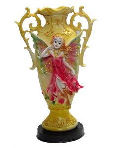 "Paras Magic Yellow Flower Pot(7.87x4x12.59"")"