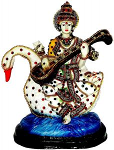 "Paras Magic Hans Saraswati Idol(7.87x4.33x9.44"")"