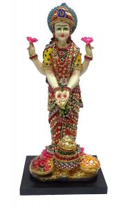 "Paras Magic Lakshmi Idol(6.69x6x15"")"