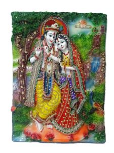 "Paras Magic Radha Krishna Painting(12.25X1.5X16.5"")"