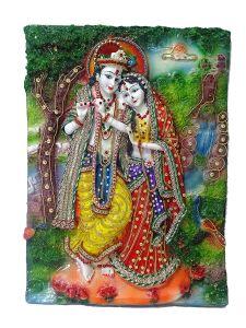 "Paras Magic Radha Krishna Painting(12.25X1.5X16.5"")"