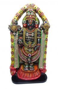 Paras Magic Tirupati Balaji Venkatesh Statue(12.25X5.25X24 inch)