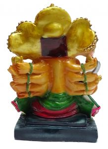 "Paras Magic Panch Mukhi Hanuman Idol(9X7X12.5"")"