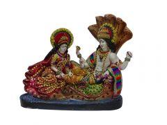 """Paras Magic Sheshnaag Vishnu Lakshmi Ji(13.25X6X11.5"""")"""