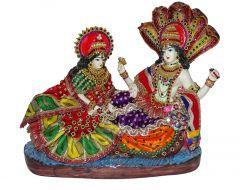 """Paras Magic Vishnu Lakshmi Idol(12X5.5X13"""")"""