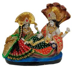 Paras Magic Vishnu Lakshmi Idol (12X5.5X13 inch)