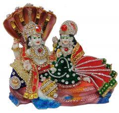 Paras Magic Vishnu Lakshmi Idol (7X3.5X6.5 inch)