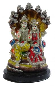 """Paras Magic Sheshnaag Vishnu Lakshmi Ji(6X5.5X9"""")"""