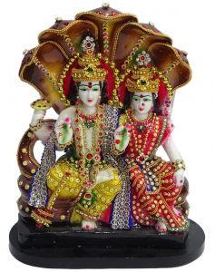"Paras Magic Vishnu Laxmi JI(9X4.X12.5 "")"