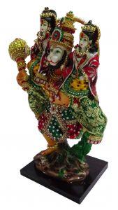 "Paras Magic Ram Laxman Hanuman Idol(7x6x15"")"