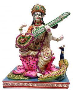 "Paras Magic Saraswati Idol(12.5X10.75X17.25"")"