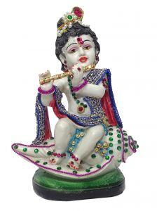 """Paras Magic Basuri Krishna Idol(6x3.14x8"""")"""