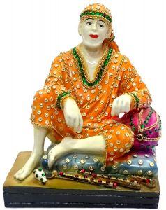"Paras Magic Sitting Sai Baba(7X5.25X8.75"")"