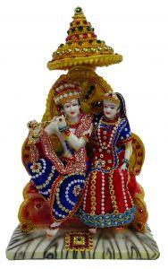 "Paras Magic Lovely Radha Krishna Ji 7(8X5X12"")"