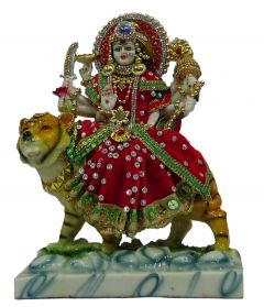 Paras Magic Durga Mata Idol (8X4X10 inch)