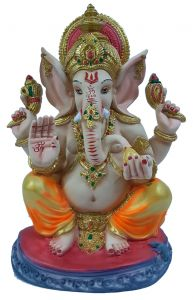 Paras Magic Ganesha Idol (11X8.25X15 inch)