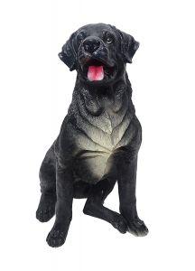 "Paras Magic Black Dog Showpiece(11.75x16.75x20.75"")"