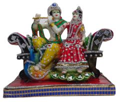 "Paras Magic Radha Krishan Ji R.K(10.25X5.5X9"" )"