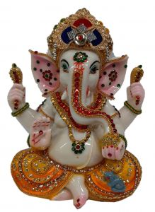 Paras Magic Ganesh Idol (8X4.75X9 inch)