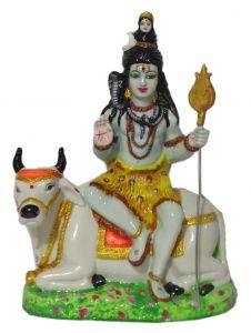 "Paras Magic Shiv Idol On Nandi(7.5X4X10"")"