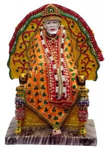 "Paras Magic Sirdi Sai Baba Idol(8X5.5X12"")"